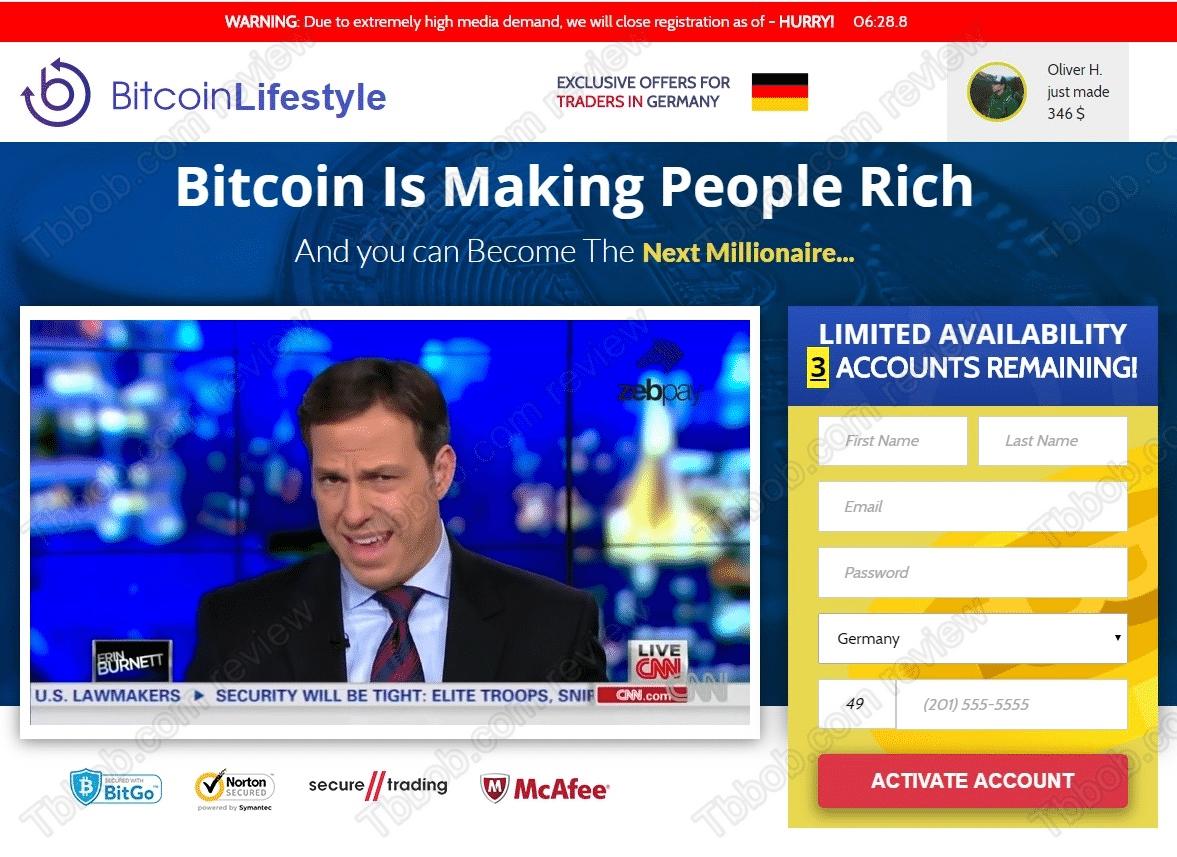 Bitcoin Lifestyle Što je sastav proizvoda? Komponente