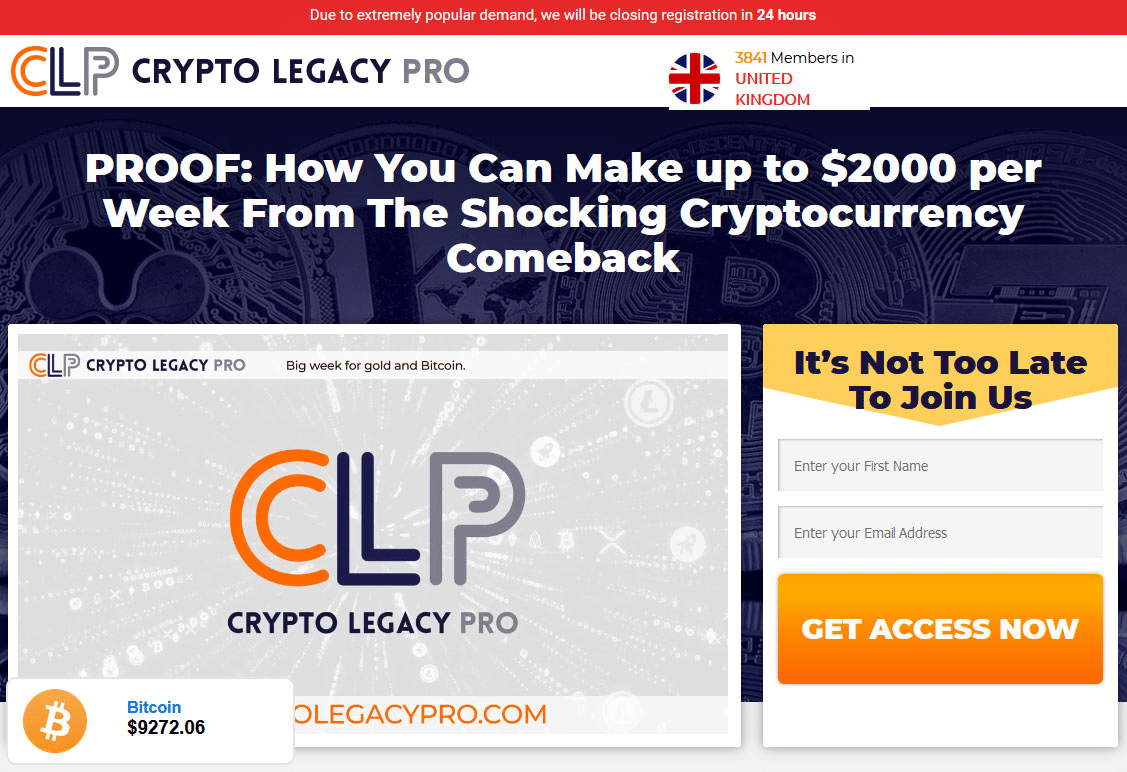 Как да се регистрирам? Как да се присъединя към приложението Crypto Legacy Pro?