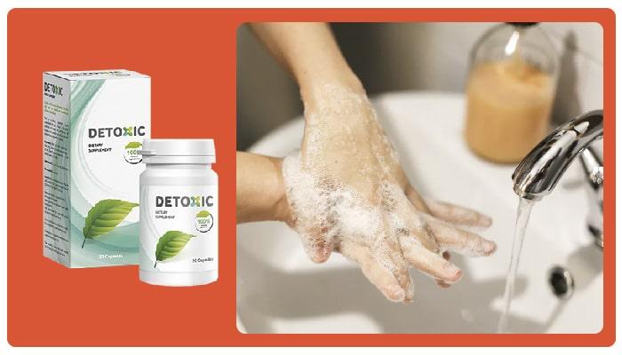 Detoxic Какъв е съставът на продукта? Компоненти
